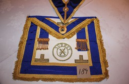 Craft – Provincial Full Dress Apron with Collar & Collar Jewel (PPAGDC Surrey)