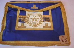 Craft – Grand Rank Full Dress Apron – Assistant Grand Sword Bearer