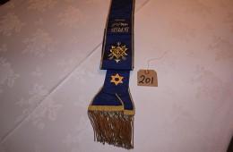 Order of The Secret Monitor – Past Provincial Grand Standard Bearer Sash