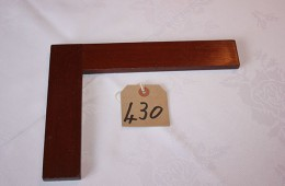Furnishings – Wooden Square (25cm)