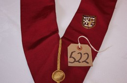 Royal Arch – First Principal's Collar with Founding Chapter Jewel for The Metropolitan Grand Chapter of London