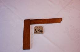 Furnishings – Wooden Square (27cm)