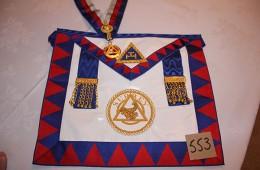 Royal Arch – Provincial Grand Steward's Apron, Collarette & Jewel (Surrey)