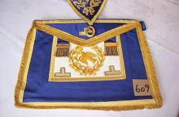 Craft – Grand Rank – Grand Deacon Full Dress Apron Collar & Collar Jewel