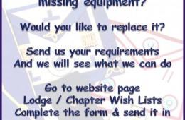 Missing Equipment !