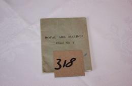 Royal Ark Mariner – Ritual Book No.1 (1971)