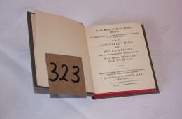 Mark – Book of Constitutions & Regulations (1955)